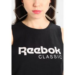 Topy damskie: Reebok Classic CROP TANK Top black
