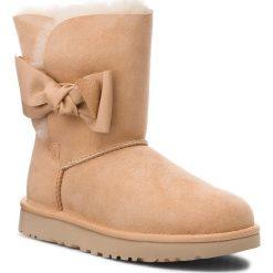 Buty UGG - W Daelynn 1019983 W/Soch. Szare buty zimowe damskie marki Ugg, z materiału, z okrągłym noskiem. Za 969,00 zł.