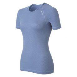 Odlo Koszulka damska Cubic niebieska r. XS (140041). Niebieskie t-shirty damskie Odlo, xs. Za 117,10 zł.