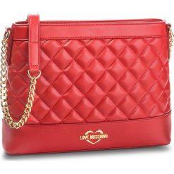 Torebka LOVE MOSCHINO - JC4203PP06KA0500 Rosso. Czerwone torebki klasyczne damskie Love Moschino, ze skóry ekologicznej. Za 679,00 zł.