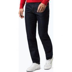 Van Graaf - Jeansy męskie, niebieski. Niebieskie jeansy męskie marki OLYMP SIGNATURE, m, paisley. Za 199,95 zł.