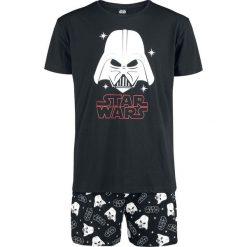Star Wars Darth Vader Pidżama czarny. Czarne bermudy męskie Star Wars, z motywem z bajki, retro. Za 144,90 zł.