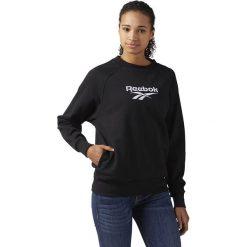 Bluza Reebok Cover Up (CF3950). Czarne bluzy damskie marki Alpha Industries, z materiału. Za 129,99 zł.
