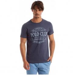 Polo Club C.H..A T-Shirt Męski Xxl Niebieski. Niebieskie koszulki polo marki Polo Club C.H..A, m. W wyprzedaży za 119,00 zł.