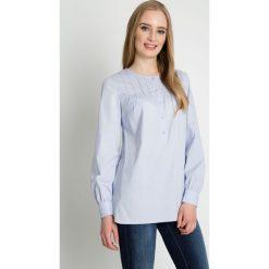 Koszule body: Błękitna koszula z długim rękawem BIALCON
