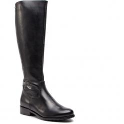 Oficerki EKSBUT - 98-5435-155-1G Czarny. Czarne buty zimowe damskie Eksbut, ze skóry, na obcasie. W wyprzedaży za 319,00 zł.