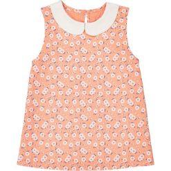 Bluzki dziewczęce: Bluzka bez rękawów, z kołnierzykiem bebe i nadrukiem, 3-12 lat