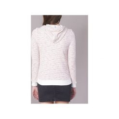 Bluzy Roxy  TRIPPIN STRIPE. Białe bluzy damskie marki Roxy, l, z nadrukiem, z materiału. Za 207,20 zł.