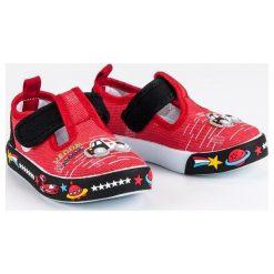 Buty dziecięce: Czerwone trampki  AMERICAN CLUB czerwone