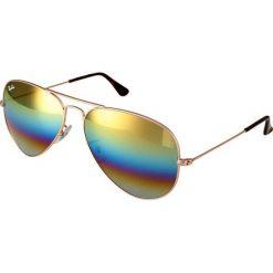Okulary przeciwsłoneczne damskie aviatory: RayBan AVIATOR LARGE METAL Okulary przeciwsłoneczne bronze/copper