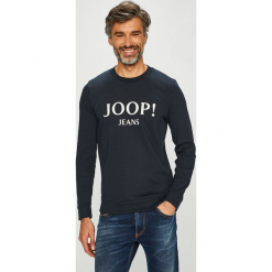 Joop! - Bluza. Czarne bejsbolówki męskie JOOP!, l, z nadrukiem, z bawełny, bez kaptura. Za 399,90 zł.