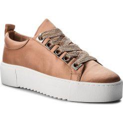 Sneakersy BRONX - 66121-A New Nude 2208. Czarne sneakersy damskie marki Bronx, z materiału. W wyprzedaży za 259,00 zł.