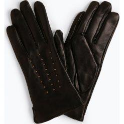 Pearlwood - Skórzane rękawiczki damskie – Jean, czarny. Czarne rękawiczki damskie Pearlwood. Za 379,95 zł.