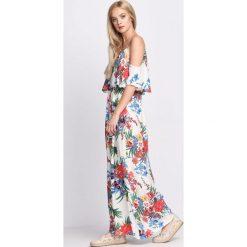 Sukienki: Biała Sukienka Dance You Off