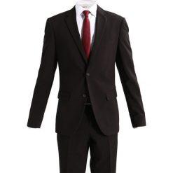 Lindbergh SLIM FIT Garnitur black. Czarne garnitury Lindbergh, z elastanu. Za 629,00 zł.