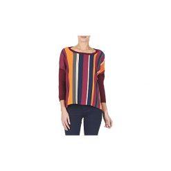 Swetry Benetton  OVEZAK. Czerwone swetry klasyczne damskie marki Benetton. Za 175,20 zł.