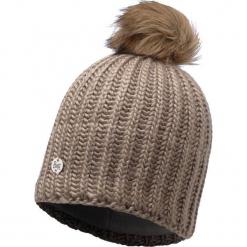 Czapka damska Knitted Glen beżowa (BH116017.328.10.00). Brązowe czapki zimowe damskie Buff. Za 168,00 zł.
