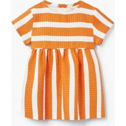 Sukienki dziewczęce: Mango Kids – Sukienka dziecięca Amaya 80-104 cm