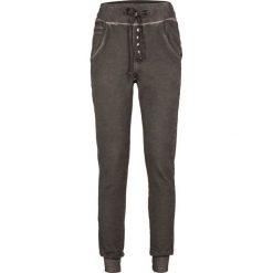 """Spodnie dresowe damskie: Spodnie dresowe bonprix ciemny khaki """"used"""""""