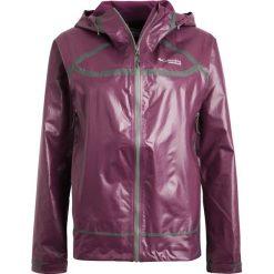 Columbia OUTDRY EXTREME Kurtka do biegania dark raspberry. Fioletowe kurtki damskie Columbia, m, z materiału, do biegania. W wyprzedaży za 503,40 zł.