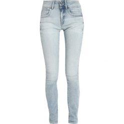 GStar LYNN MID SKINNY NEW Jeans Skinny Fit lt aged. Niebieskie jeansy damskie relaxed fit marki G-Star, z bawełny. Za 469,00 zł.