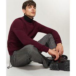 Swetry męskie: Sweter – Brązowy