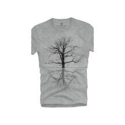 T-shirt UNDERWORLD Ring spun cotton Drzewo. Szare t-shirty męskie z nadrukiem marki Underworld, m, z bawełny. Za 59,99 zł.