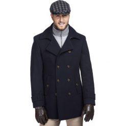 Płaszcz LOUIS PSGE000039. Brązowe płaszcze na zamek męskie marki Cropp, na zimę, l, sportowe. Za 1299,00 zł.
