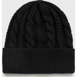 Medicine - Czapka Basic. Czarne czapki zimowe damskie MEDICINE, z dzianiny. Za 59,90 zł.