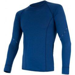 Odzież termoaktywna męska: Sensor Koszulka Termoaktywna Z Długim Rękawem Merino Air M Blue L