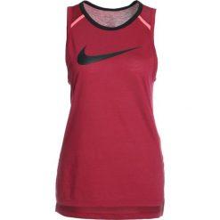 Topy sportowe damskie: Nike Performance ELITE Koszulka sportowa rush maroon/black/black