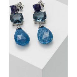 Kolczyki damskie: Dyrberg/Kern MATANA DANGLE EARRING Kolczyki blue