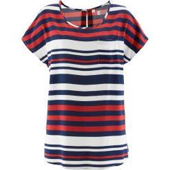 Tunika bonprix ciemnoniebiesko-czerwono-biały w paski. Czarne tuniki damskie marki DOMYOS, z bawełny, street. Za 74,99 zł.