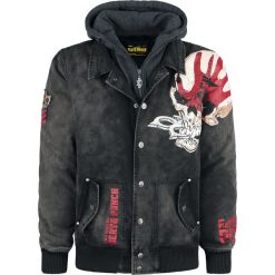 Kurtki męskie bomber: Five Finger Death Punch EMP Signature Collection Kurtka czarny
