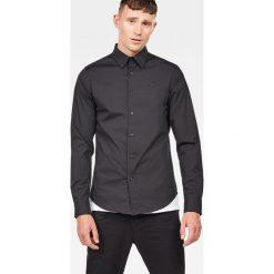 G-Star Raw - Koszula. Szare koszule męskie casual marki Guess Jeans, l, z aplikacjami, z bawełny, z klasycznym kołnierzykiem, z długim rękawem. W wyprzedaży za 279,90 zł.