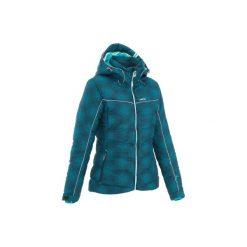 Kurtka Slide 500 WARM. Szare kurtki damskie puchowe marki WED'ZE, m, z materiału. W wyprzedaży za 279,99 zł.