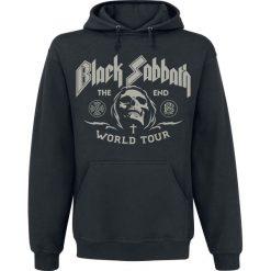 Black Sabbath The End Grim Reaper Bluza z kapturem czarny. Czarne bluzy męskie rozpinane marki Black Sabbath, s, z nadrukiem, z kapturem. Za 164,90 zł.