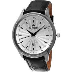 Zegarki męskie: Zegarek Gino Rossi męski Topmen czarny (10212A-3A1)