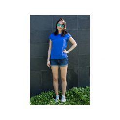 T-shirt Prosta Historia kobaltowy. Niebieskie t-shirty damskie Mktp mój kraj taki piękny, m, z bawełny. Za 89,00 zł.