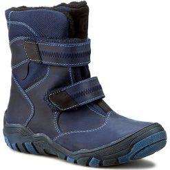 Buty zimowe chłopięce: Śniegowce KORNECKI – 01872 W/Granat/S