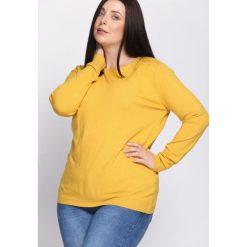 Żółty Sweter Come Into My Life. Żółte swetry oversize damskie marki Mohito, l, z dzianiny. Za 39,99 zł.