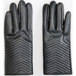 Rękawiczki - Czarny. Białe rękawiczki damskie marki Reserved, l, z dzianiny. Za 49,99 zł.
