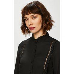 Vero Moda - Koszula. Brązowe koszule damskie marki Vero Moda, l, z poliesteru, casualowe, z długim rękawem. Za 149,90 zł.