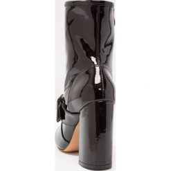 Botki damskie lity: Glamorous Botki na obcasie black