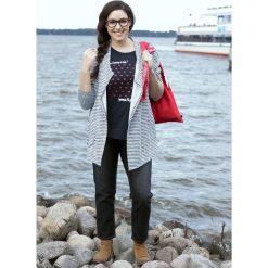 Kardigany damskie: Sweter-narzutka