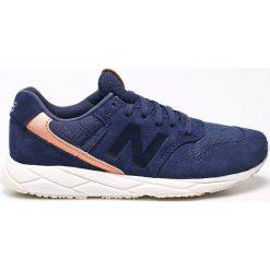 New Balance - Buty WRT96EAB. Szare buty sportowe damskie marki New Balance, z gumy. W wyprzedaży za 239,90 zł.