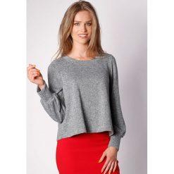 Bluzy damskie: Bluza w kolorze ciemnoszarym