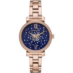 Zegarek MICHAEL KORS - Sofie MK3971 Rose Gold/Rose Gold. Czerwone zegarki damskie marki Michael Kors. Za 1299,00 zł.