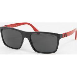 Okulary przeciwsłoneczne męskie: Polo Ralph Lauren – Okulary PH4133