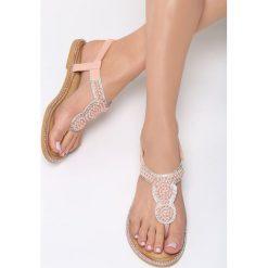 Różowe Sandały To The Claskys. Czerwone sandały damskie vices, na płaskiej podeszwie. Za 64,99 zł.